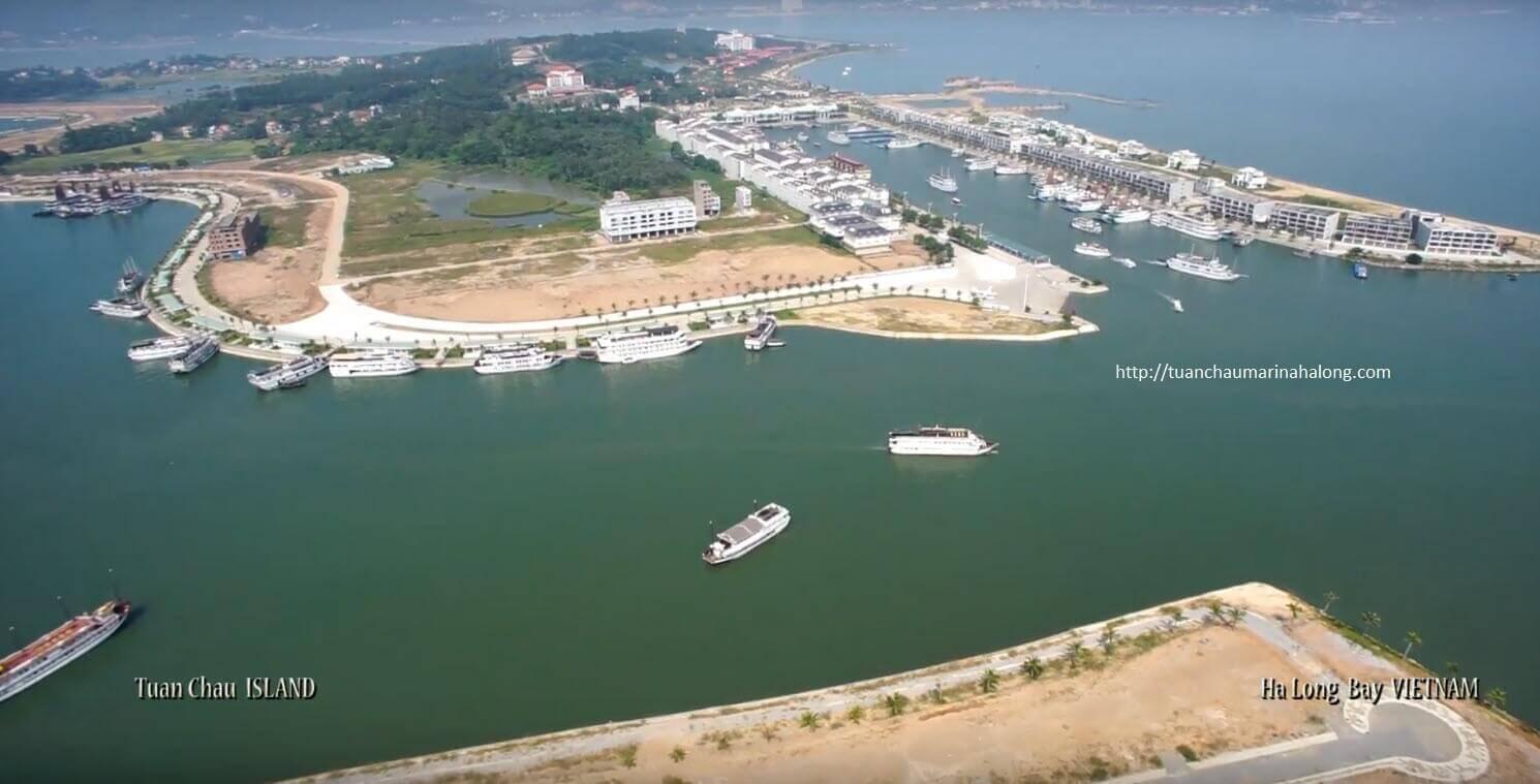 Cơ sở hạ tầng tại dự án Tuần Châu Marina đang hoàn thiện