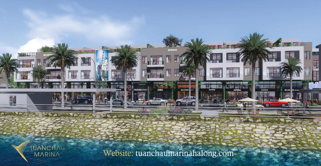 Shophouse Tuần Châu và những căn view biển đẳng cấp